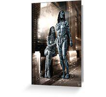 Cyberpunk Photography 39 Greeting Card