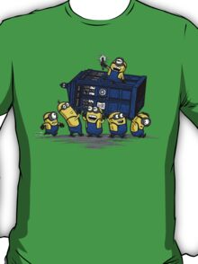 The Minions Have The Phone Box T-Shirt