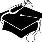 medical graduation cap by maydaze