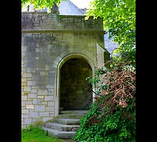Coe Hall Historic House Museum Hidden Entrance - Upper Brookville, New York by © Sophie W. Smith