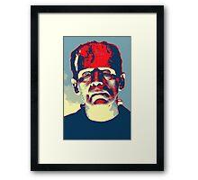 Boris Karloff in The Bride of Frankenstein Framed Print
