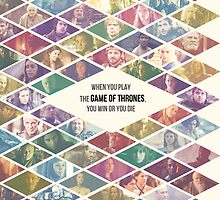 Game of Thrones Ensemble - 'When you play the Game of Thrones, you win or you die' by Hrern1313