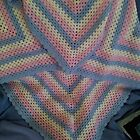 Throw Rug for Baby  (this one is SOLD) by Debbie Hetzel/Piro