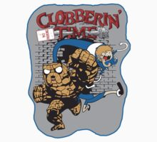 Clobberin' Time Sticker by Dansmash