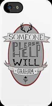 Someone Please Help Will Graham by deerlet
