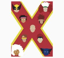 X Men Vector Heads by WillFM