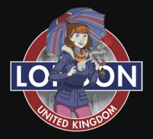 London - Umbrella Girl by citizentang