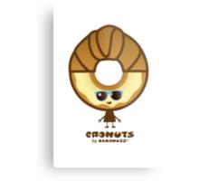 Cronuts - Fun Croissant + Doughnut Hybrids Metal Print