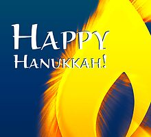 happy hannukah light by maydaze