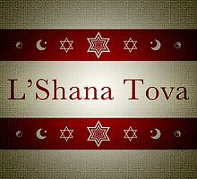 L'Shana Tova cards by maydaze