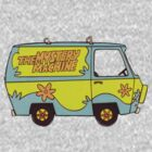 The Mystery Machine - design 3 by carrieclarke