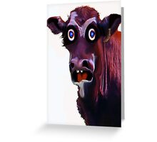 BUTCHER TWO Greeting Card