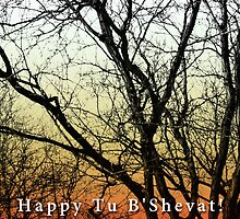 happy shevat card by maydaze