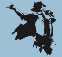 Michael jackson stencil by BungleThreads