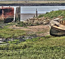 Wrecks on the Medway  by larry flewers