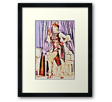 Hot and Horny Framed Print