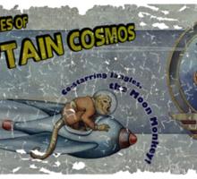 The Adventures of Captain Cosmos Sticker