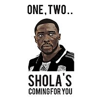 Shola Ameobi - Mackem Slayer iPad by littlemonsters