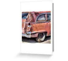 Cadillac Ambulance Greeting Card