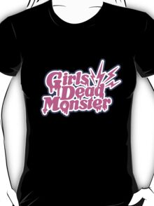 Girls Dead Monster Logo T-Shirt