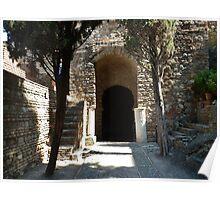 Alcazaba de Malaga 2 Poster