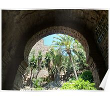 Alcazaba de Malaga 3 Poster