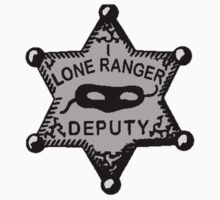 Lone Ranger- Badge by JordanMay