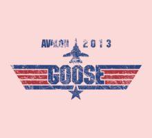Custom Top Gun Style - Avalon Goose Kids Clothes