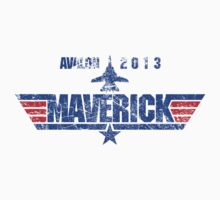 Custom Top Gun Style - Avalon Maverick by CallsignShirts
