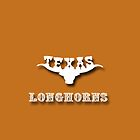 Texas Longhorns iPhone case by Cassandra Scarborough