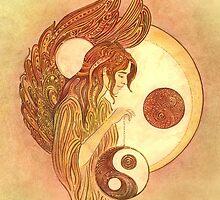 """THE LIBRA"" - Protective Angel for Zodiac Sign by Anna Ewa Miarczynska"