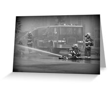 Fire Truck - British Columbia Canada Greeting Card