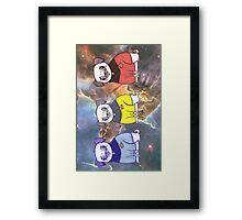 TNG - Pug Trek Framed Print