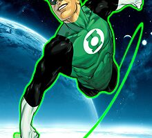 Green Lantern, Hal Jordan! by Booshboosh