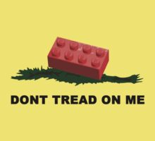 Don't tread on me - Lego by Trent Mahony