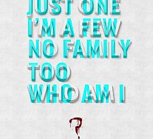 Who am I? by mymeyer