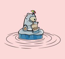 Summer Polar Bear : Trendy Bubble Tea by petoizky