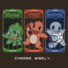 1st Generation Pokemon - Choose Wisely by Namueh