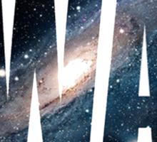 Swaggin' In Space Sticker