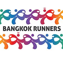 Bangkok Runners | Postcard by Lin Da