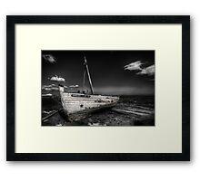 Tuna Fishing Boat Framed Print