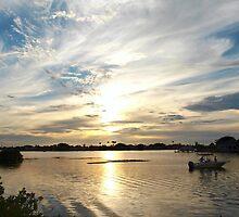 Boating beauty in wide view by ♥⊱ B. Randi Bailey