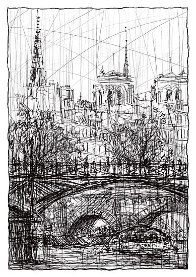 Paris 8 by Tatiana Ivchenkova