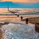 Pattern on The Beach by Adrian Evans