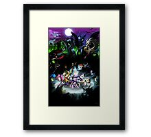 Final Showdown Framed Print