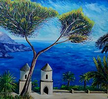All Blue On Amalfi Coast Italy by artshop77