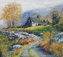 path into the Black Valley by Roman Burgan