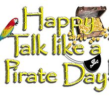 Pirate Talk Text - Happy Talk Like a Pirate Day! by Gravityx9
