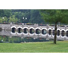 Reflection Bridge Photographic Print