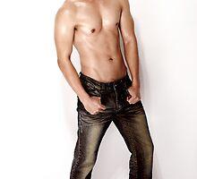 Edjon-Jeans Shirtless by BrianJoseph